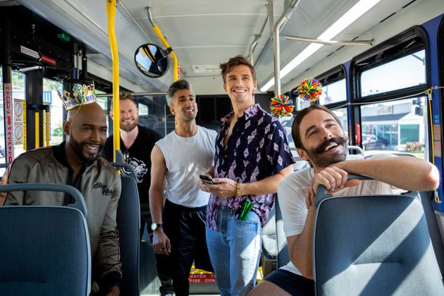 Karamo Brown, Bobby Berk, Tan France, Antoni Porowski, Jonathan Van Ness in