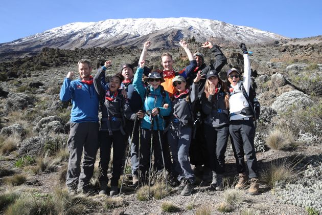 Comic Relief Returns To Kilimanjaro: The Inside Track From The Coach Who Got The Celebs To The