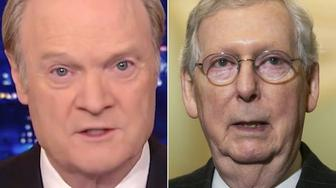 Lawrence O'Donnell and Mitch McConnell