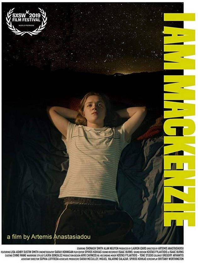 Άρτεμις Αναστασιάδου: Βραβείο για την ταινία «I Am Mackenzie» στο SXSW στο