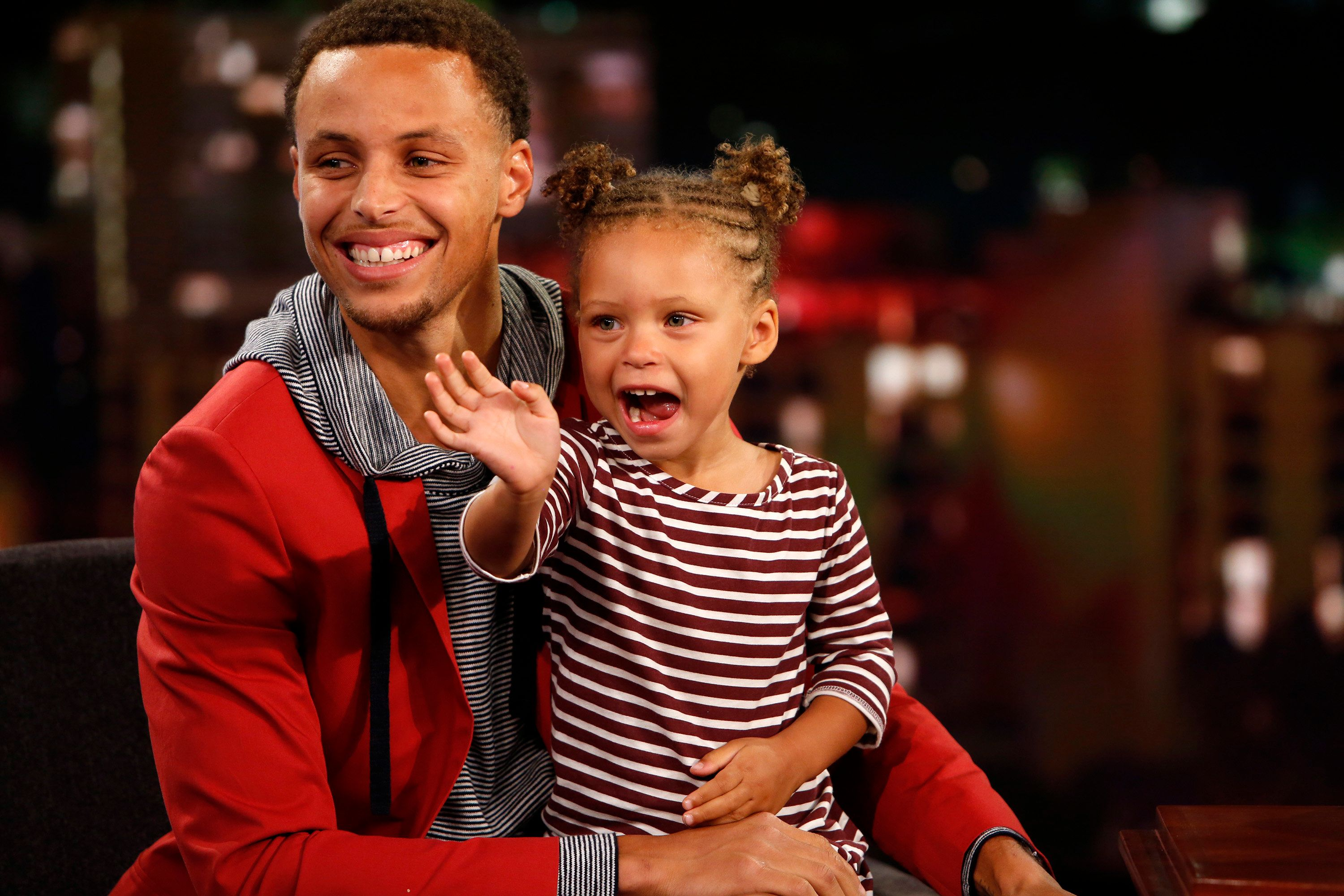 Steph Curry's parenting moments frequently make headlines.
