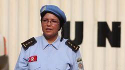 Portrait de Nadia Khelfi, Chef d'état major à la Minusca