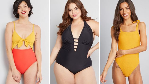 22 Flattering Swimsuits For Small