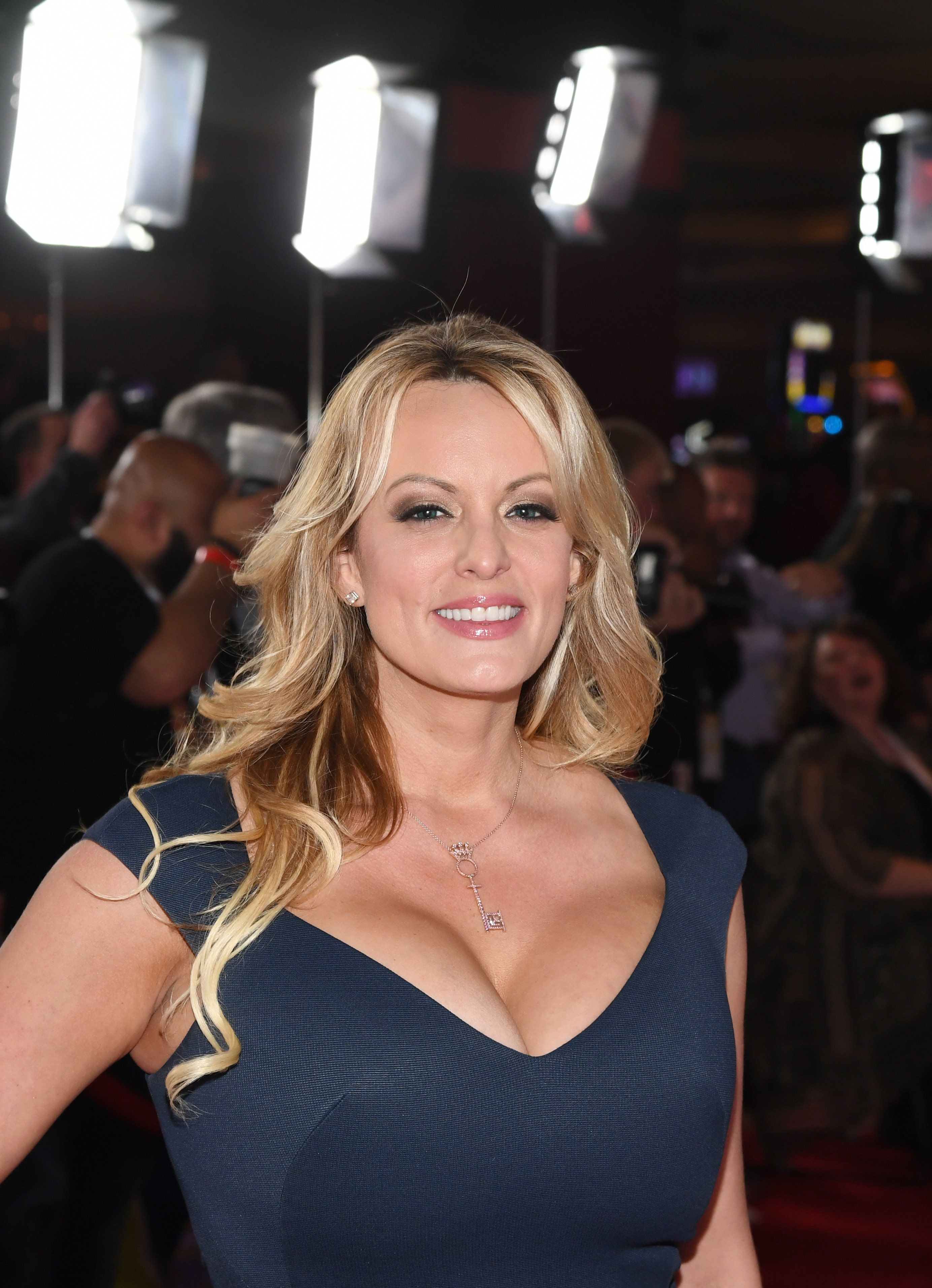 LAS VEGAS, NEVADA - JANUARY 26:  Adult film actress/director Stormy Daniels attends the 2019 Adult Video News Awards at The Joint inside the Hard Rock Hotel & Casino on January 26, 2019 in Las Vegas, Nevada.  (Photo by Ethan Miller/Getty Images)