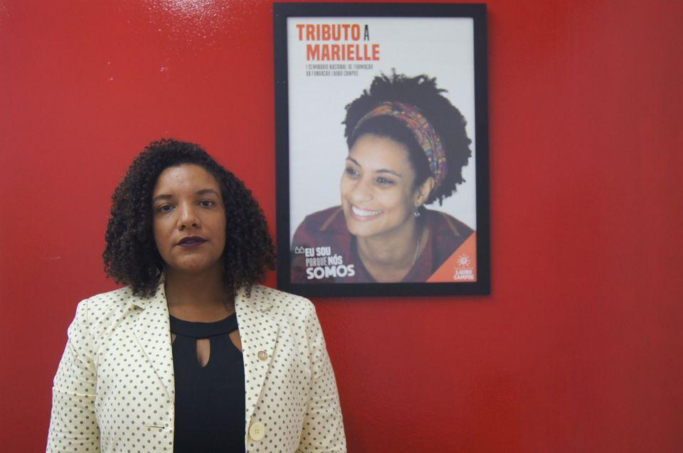 Amiga e companheira de partido de Marielle, deputada estadual Renata Souza teme que prisão de...