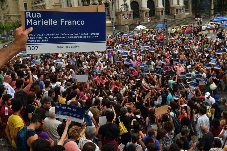 Em 8 de março de 2019, marchas no Rio de Janeiro lembraram a