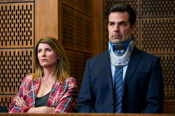 """Sharon Horgan and Rob Delaney in """"Catastrophe"""" on Amazon Prime."""