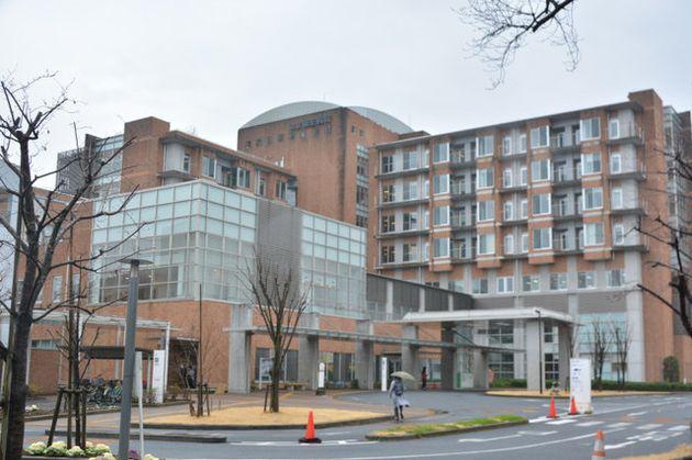 公立福生病院=2019年3月7日、東京都福生市加美平1丁目、滝口信之撮影