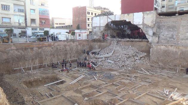L'effondrement d'un mur à Casablanca entraîne la mort de deux