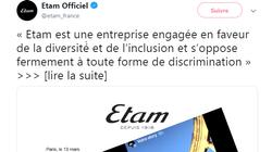 La réponse d'Etam aux accusations de discrimination à l'embauche d'une étudiante