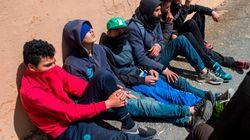 Ceuta: Plus de 50 mineurs migrants marocains transférés vers un centre en 48