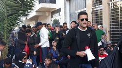 Des chômeurs malvoyants et non-voyants détenus en marge de leur nouvelle manifestation à