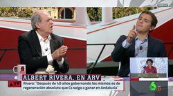Tenso encontronazo con Albert Rivera en 'Al Rojo Vivo':