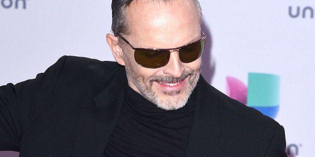 MIguel Bosé en los Grammy Latinos