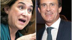 El 'corte' de Colau a Valls por sus críticas a la reprobación del