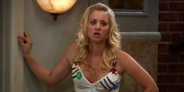 Kaley Cuoco ('The Big Bang Theory') aprovecha un atasco para despejar las dudas: