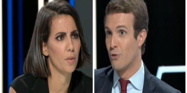 Ana Pastor y Pablo Casado en 'El
