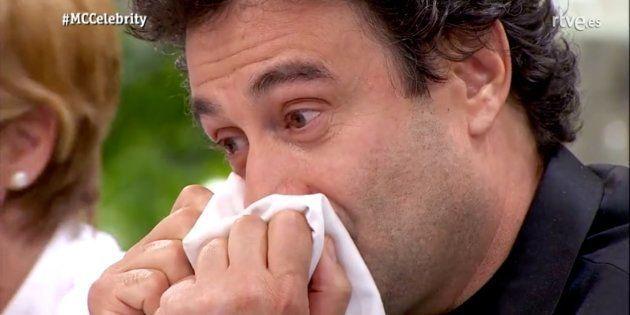 Pepe Rodríguez, en 'MasterChef