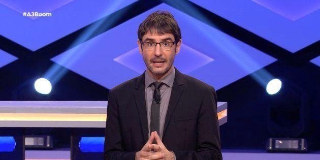 Juanra Bonet, presentador de