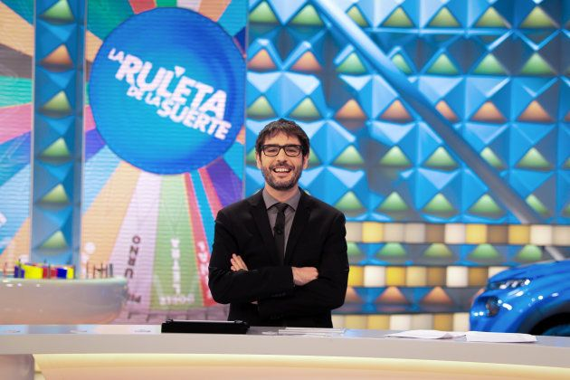 Juanra Bonet, al frente de 'La ruleta de la