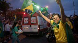 Así han celebrado los brasileños la elección del ultraderechista