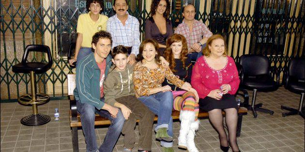 Lo actores de la serie