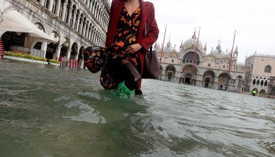 Venecia, anegada por el