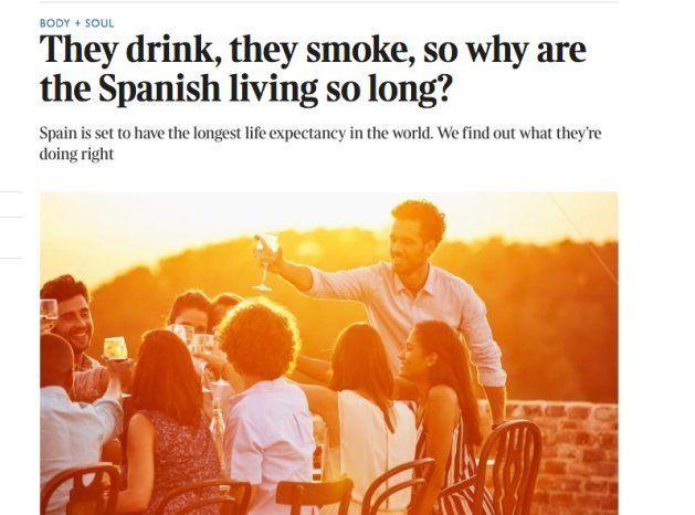 La sorprendente pregunta de 'The Times' sobre la longevidad de los