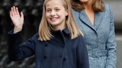 El guiño de Letizia a la princesa Leonor en su primera intervención