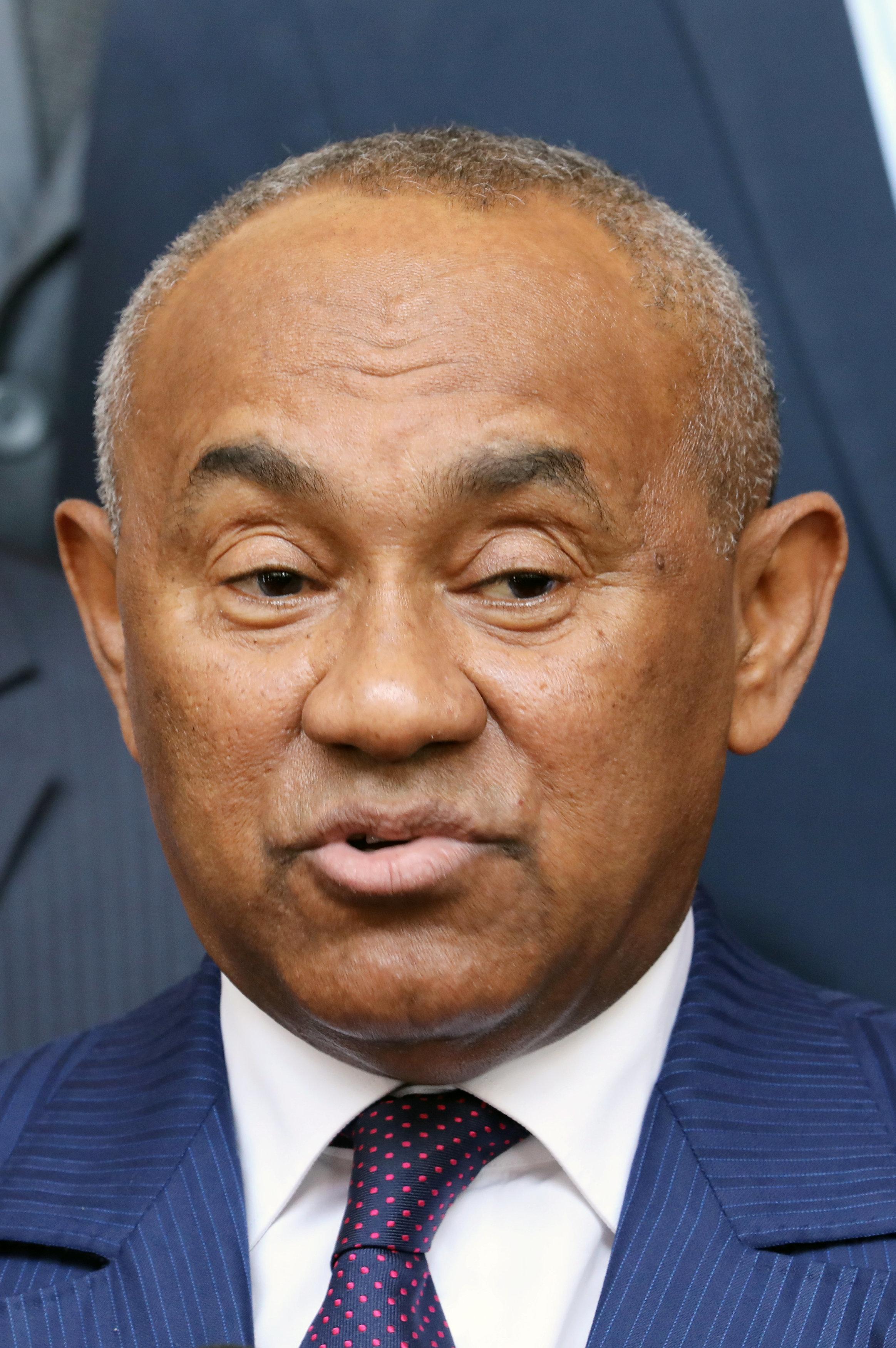 Ahmad Ahmad, président de la