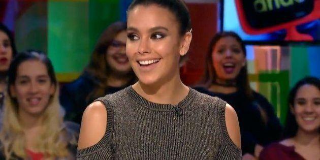 La presentadora Cristina Pedroche ha sorprendido al aparecer este miercoles