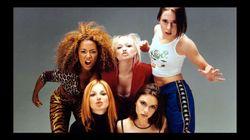 Una Spice Girl se disfrazó de otra en Halloween (y con dardo