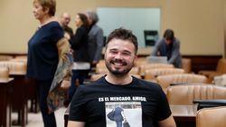 El iracundo tuit de Rufián que revienta Twitter por lo que dice de 'La Manada' y los políticos