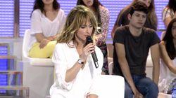 Emma García se acuerda de Toñi Moreno en su despedida de 'Mujeres y Hombres y