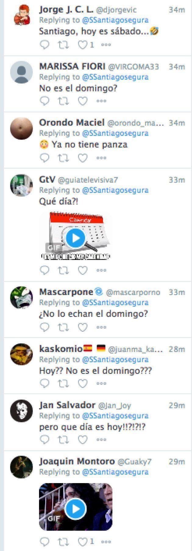 La comentada metedura de pata de Santiago Segura en