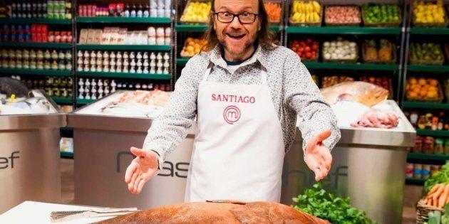 Santiago Segura, en las cocinas de 'MasterChef