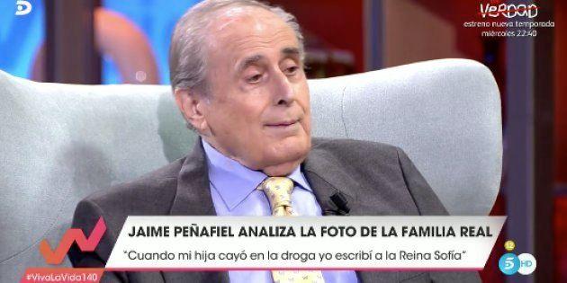 Jaime Peñafiel, en 'Viva la vida'