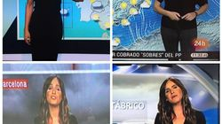 El solidario gesto de estas meteorólogas con un compañero de Aragón