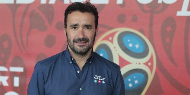 Juanma Castaño, presentador de 'El Partidazo' de la Cadena