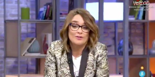 Toñi Moreno, en su despedida de 'Viva la