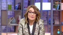 Toñi Moreno, en su despedida de 'Viva la vida':