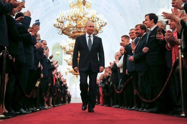 El presidente ruso, Vladimir
