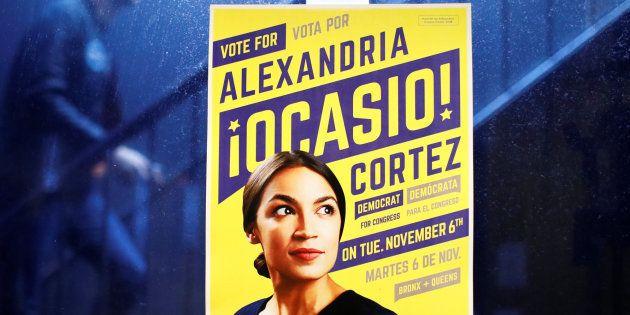 Cartel por el voto a Alexandria