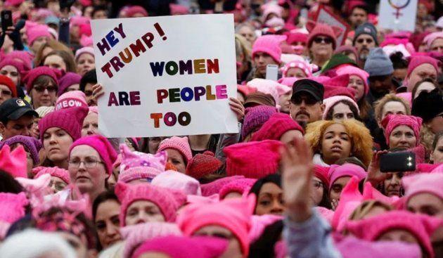 Marcha contra Trump en