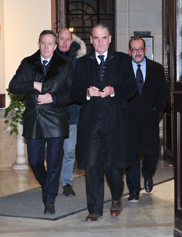 Mario Conde, en el funeral de Carmen