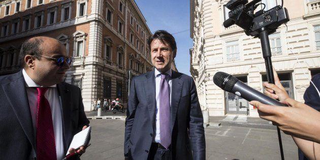 El jurista Giuseppe Conte, este