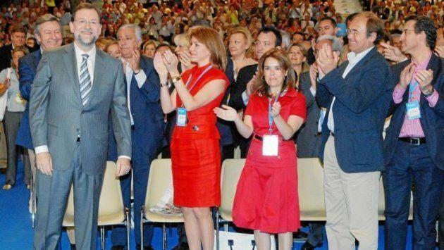 Rajoy, Arenas, Cospedal, Santamaría, García-Escudero y