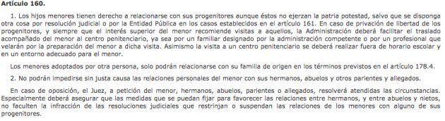 Los abuelos también tienen derecho a visitar a sus nietos tras el divorcio de los