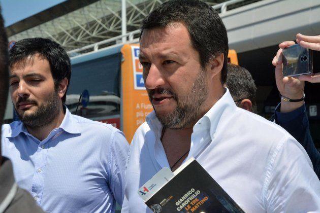El líder de la Liga, Matteo Salvini, este