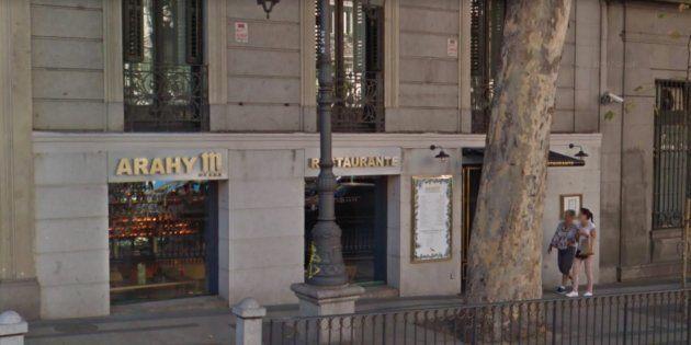 Rajoy pasa ocho horas encerrado en este restaurante del centro de